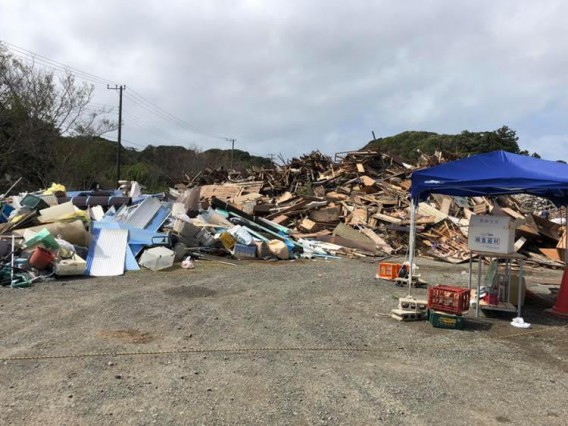 今週末、台風19号が接近します。